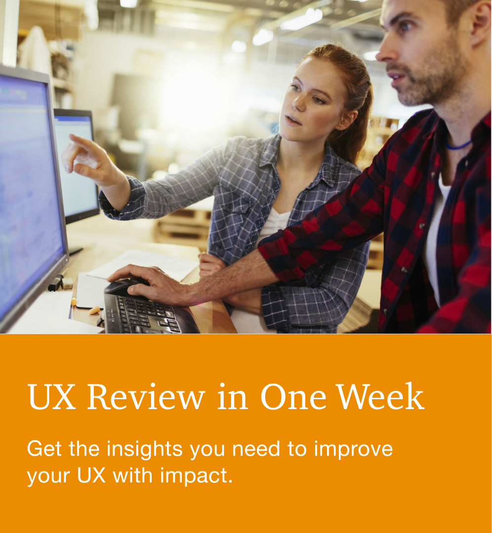 UX Review in One Week